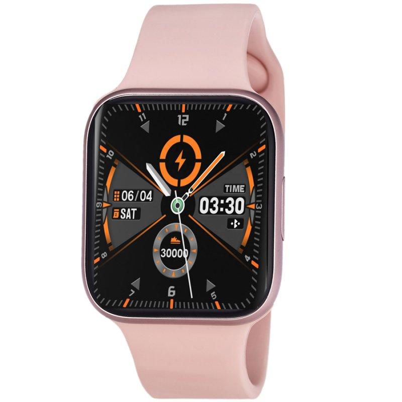Ρολόι 3GUYS Smartwatch Pink Rubber Strap - 3GW8501