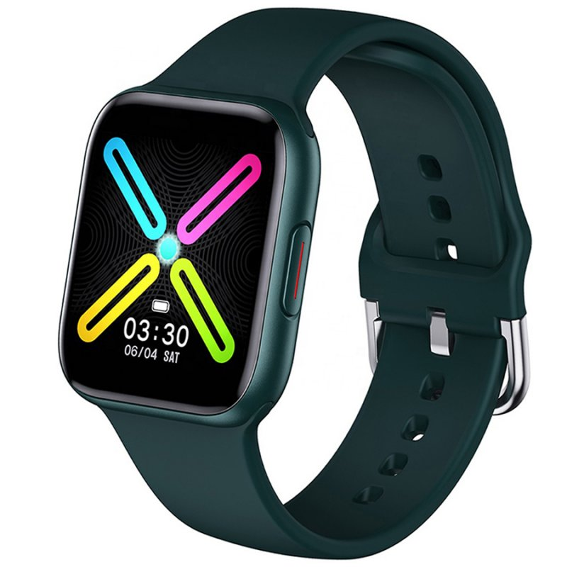 Ρολόι 3GUYS Unisex Smartwatch Green Rubber Strap - 3GW8503