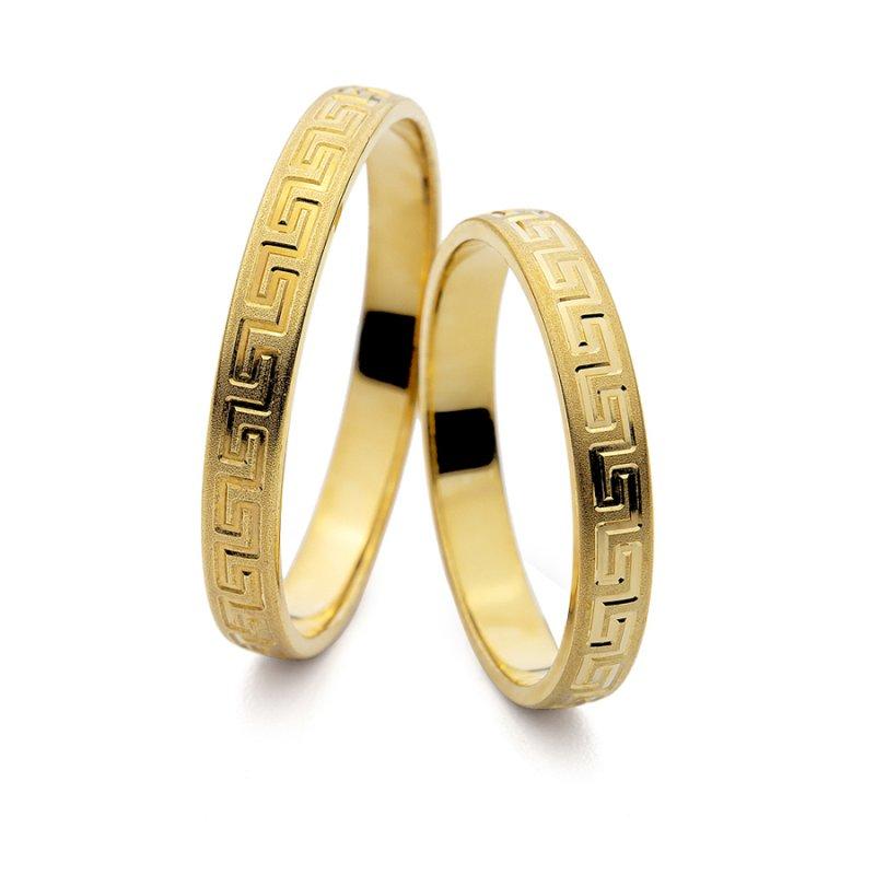 Σετ Βέρες Al' Oro Χρυσές 14 Καράτια - PM-3037