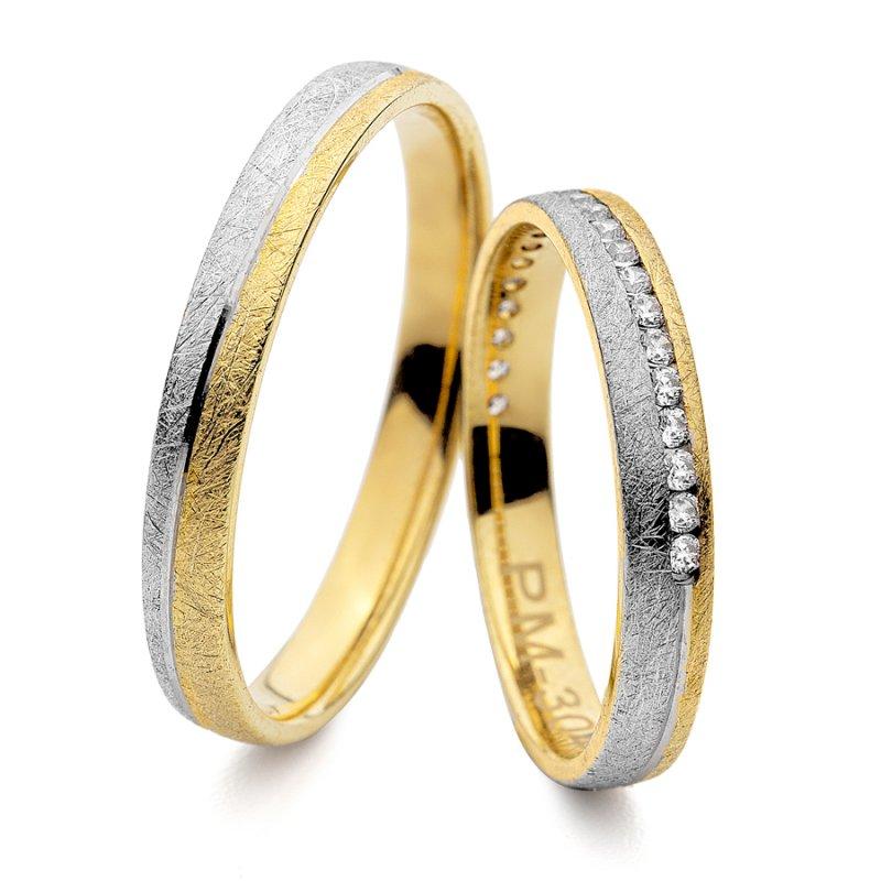 Σετ Βέρες Al' Oro Χρυσές 14 Καράτια - PM-3044