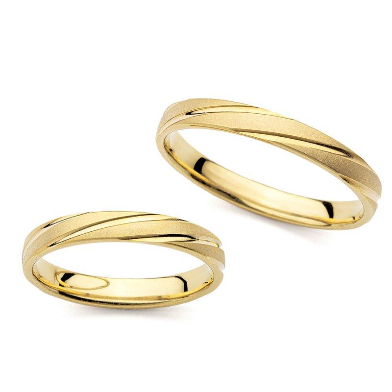 Σετ Βέρες Al' Oro Χρυσές 14 Καράτια - PM-3046