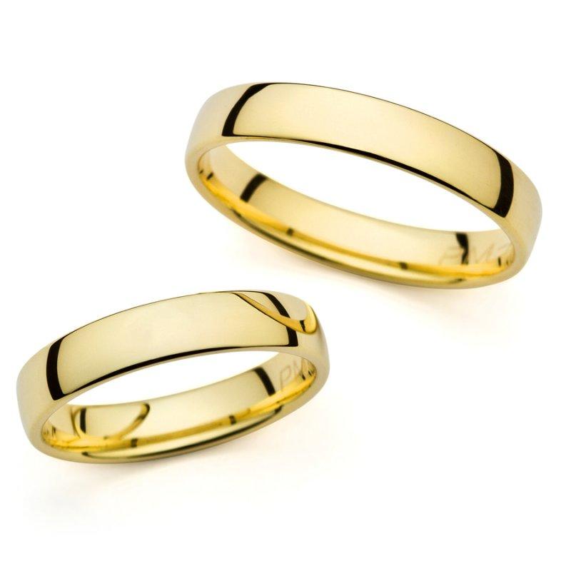 Σετ Βέρες Al' Oro Χρυσές 14 Καράτια - PM-4238