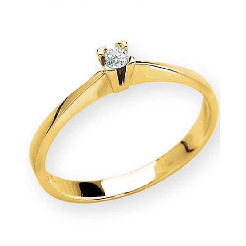 Δαχτυλίδι Amante K18 - ANS03CTY
