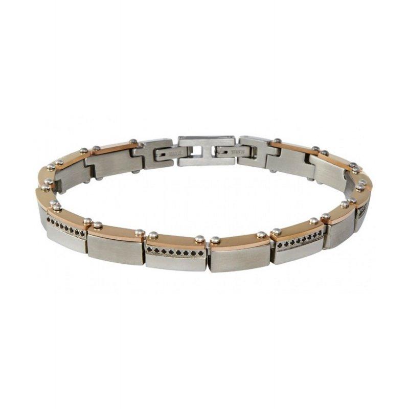 Βραχιόλι Ανδρικό ARKANO Stainless Steel - BA19R1B