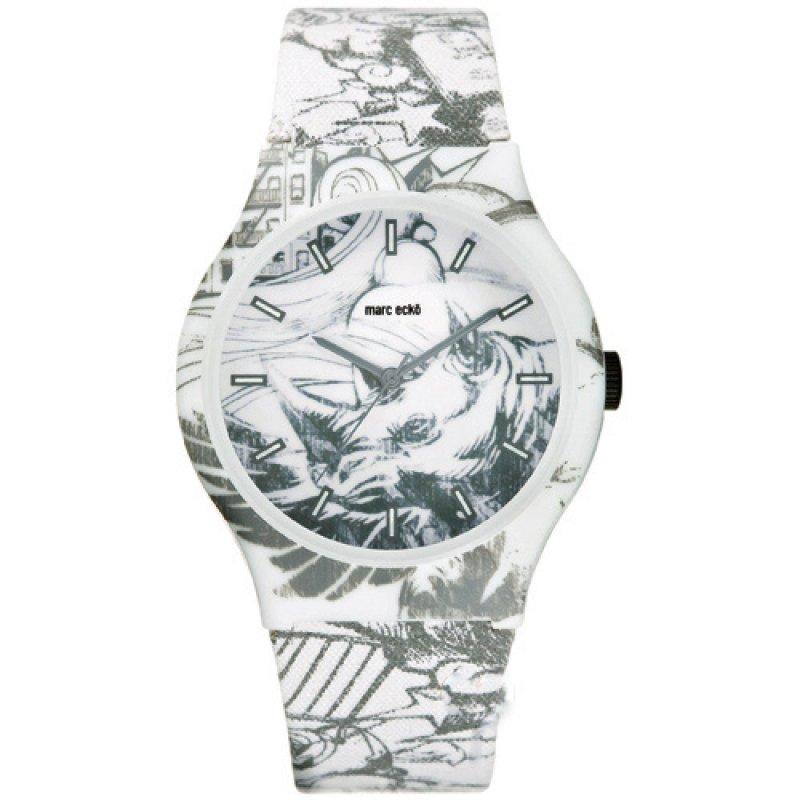 Ρολόι Soldier Artifaks by Marc Ecko Canvas Strap White-Grey - E06517M1