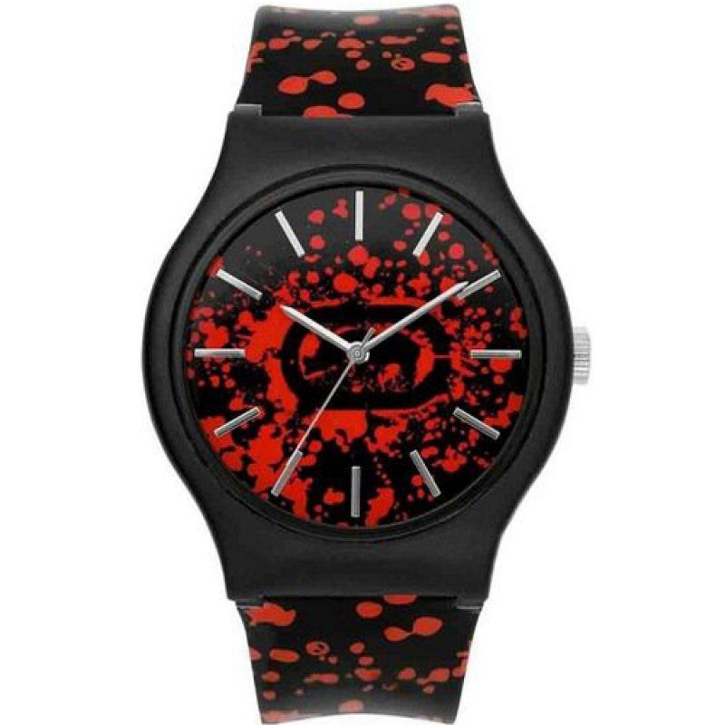Ρολόι Soldier Artifaks by Marc Ecko Canvas Strap Black-Red - E06534M2