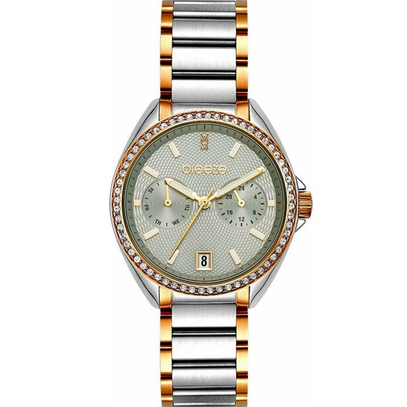 Ρολόι BREEZE Royalisse Two Tone Stainless Steel Bracelet - 712161.4