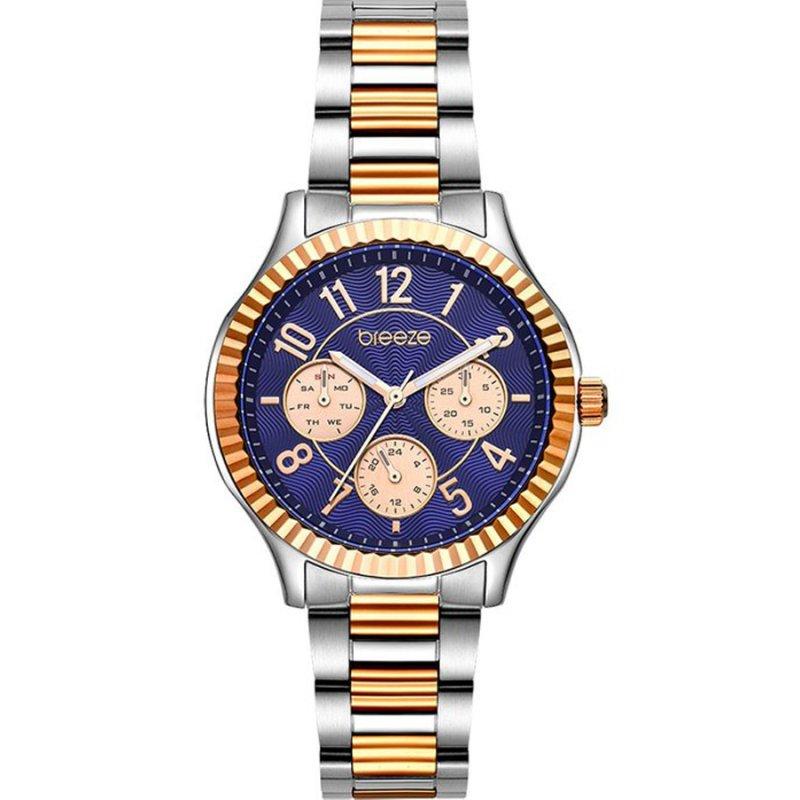 Ρολόι BREEZE Suprecious Two Tone Stainless Steel Bracelet - 712171.3