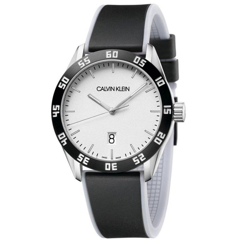 Ρολόι CALVIN KLEIN Complete Black Rubber Strap - K9R31CD6