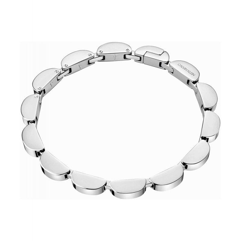Βραχιόλι CALVIN KLEIN Wavy Stainless Steel - KJAYMB000200