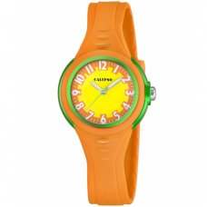 Ρολόι CALYPSO Orange Rubber Strap