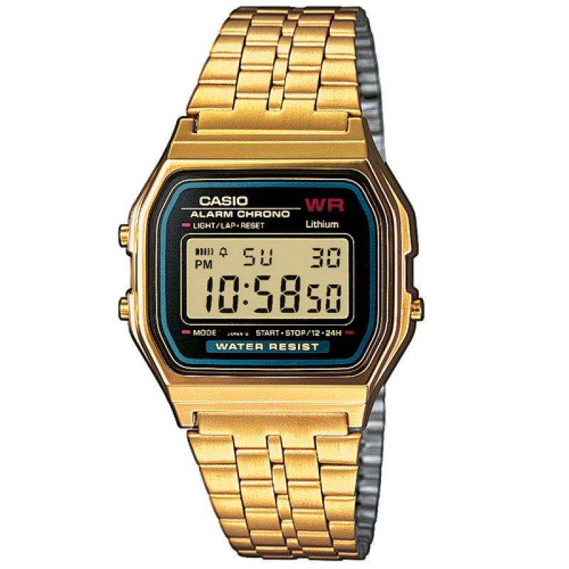 Ρολόι Casio Collection Gold Stainless Steel Bracelet - A-159WGEA-1EF