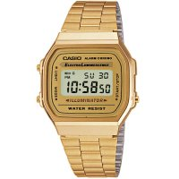 Ρολόι Casio Collection Gold Stainless Steel Bracelet - A-168WG-9EF