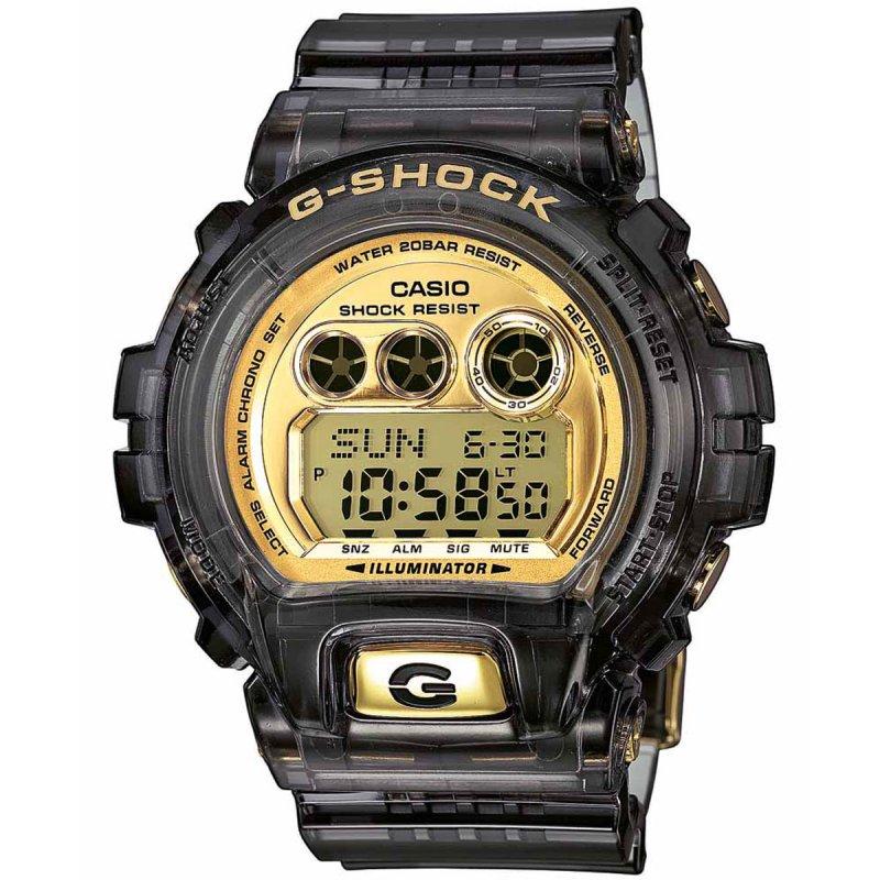 Ρολόι Casio G-Shock Resistant Chrono Black Rubber Strap - GD-X6900FB-8ER