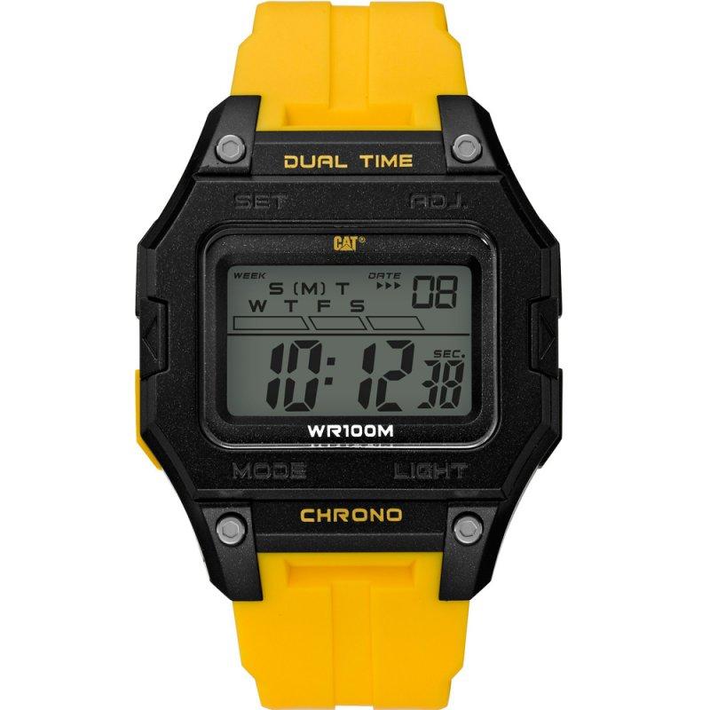 Ρολόι CATERPILLAR Digi2 Yellow Rubber Strap - OF14727247