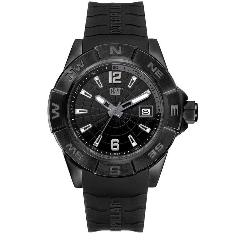 Ρολόι CATERPILLAR North Black Rubber Strap - AF16121131