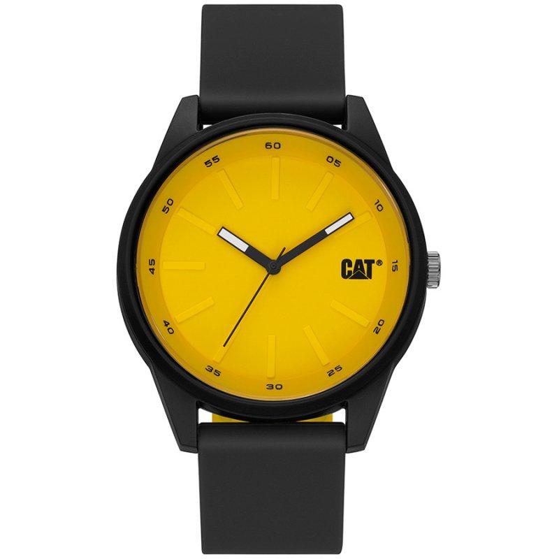 Ρολόι CATERPILLAR Insignia Black Rubber Strap - LJ16021721