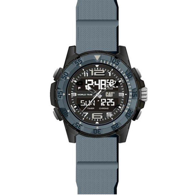 Ρολόι CATERPILLAR Basecamp Grey Rubber Strap - MC15525135
