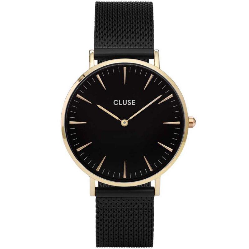 Ρολόι CLUSE La Boheme Black Stainless Steel Bracelet - CW0101201008