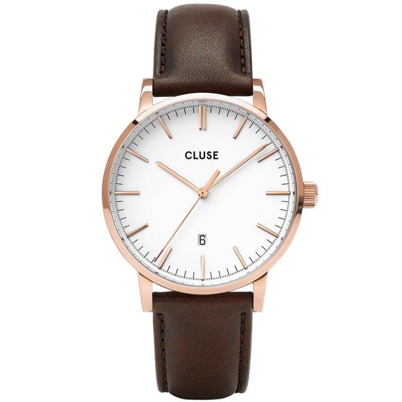 Ρολόι CLUSE Aravis Brown Leather Strap - CW0101501002
