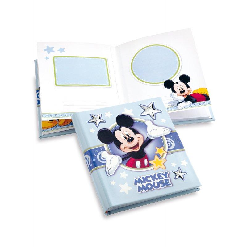 Άλμπουμ-Ημερολόγιο DISNEY Mickey Mouse Ασημένιο Φωτογραφίας 20x25 - D131-2C