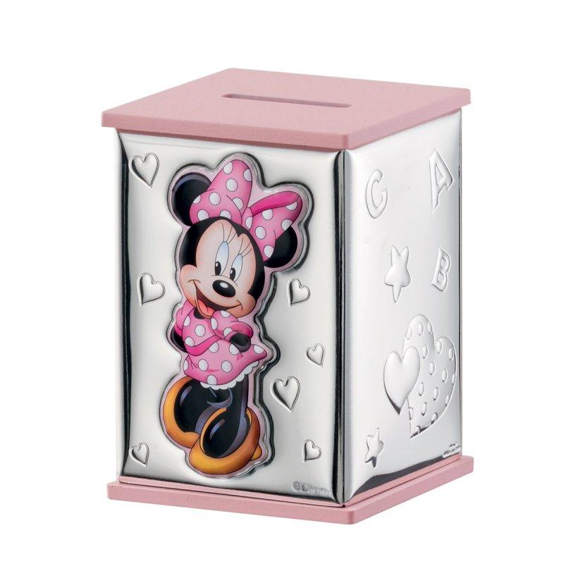 Κουμπαράς DISNEY Minnie Mouse Ασημένιο - D303RA