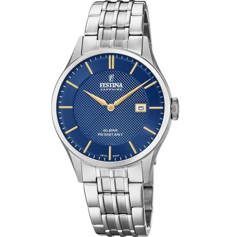 Ρολόι FESTINA Gent's Stainless Steel Bracelet - F20005-3