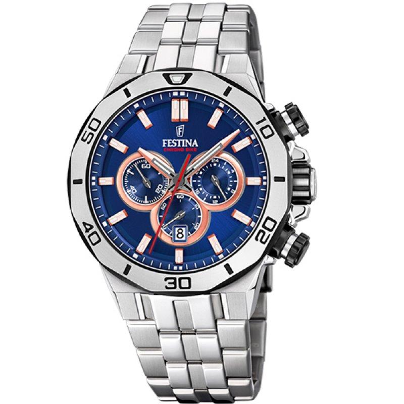 Ρολόι FESTINA Chrono Stainless Steel Bracelet - F20448-1