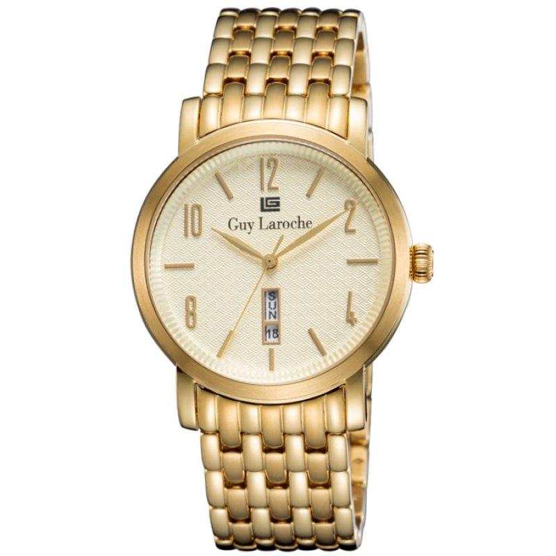 Ρολόι GUY LAROCHE Gold Stainless Steel Bracelet - GW1019-06