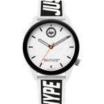 Ρολόι HYPE Two Tone Rubber Strap - HYU018BW