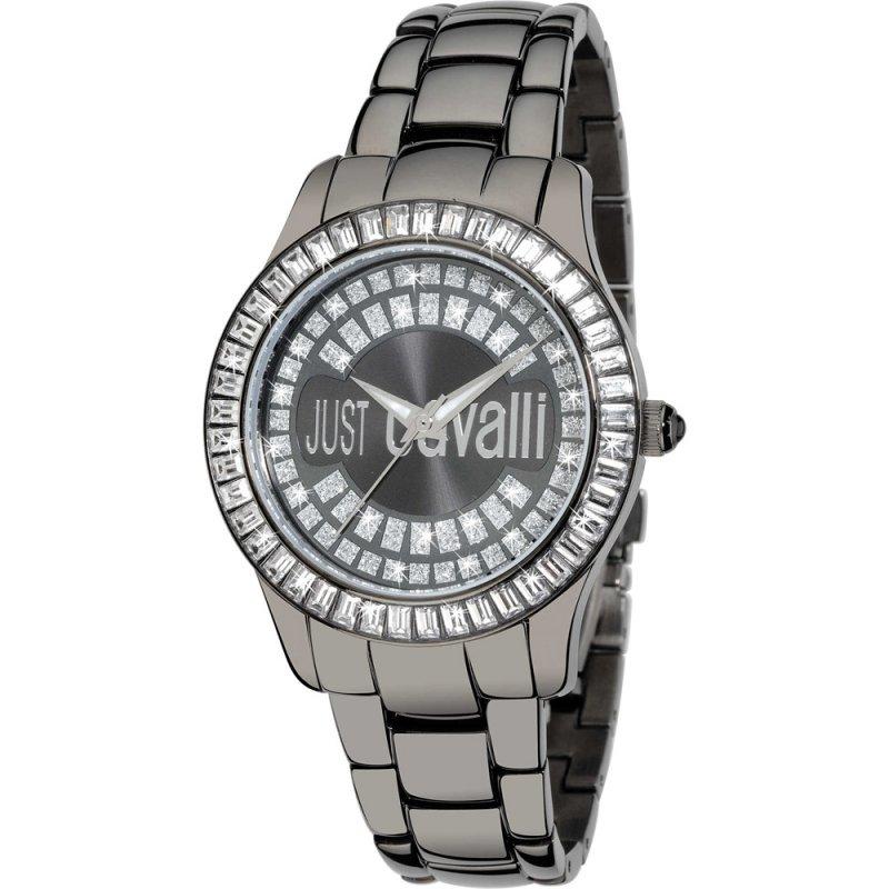 Ρολόι Just Cavalli Ice Black Stainless Steel Bracelet - R7253169125