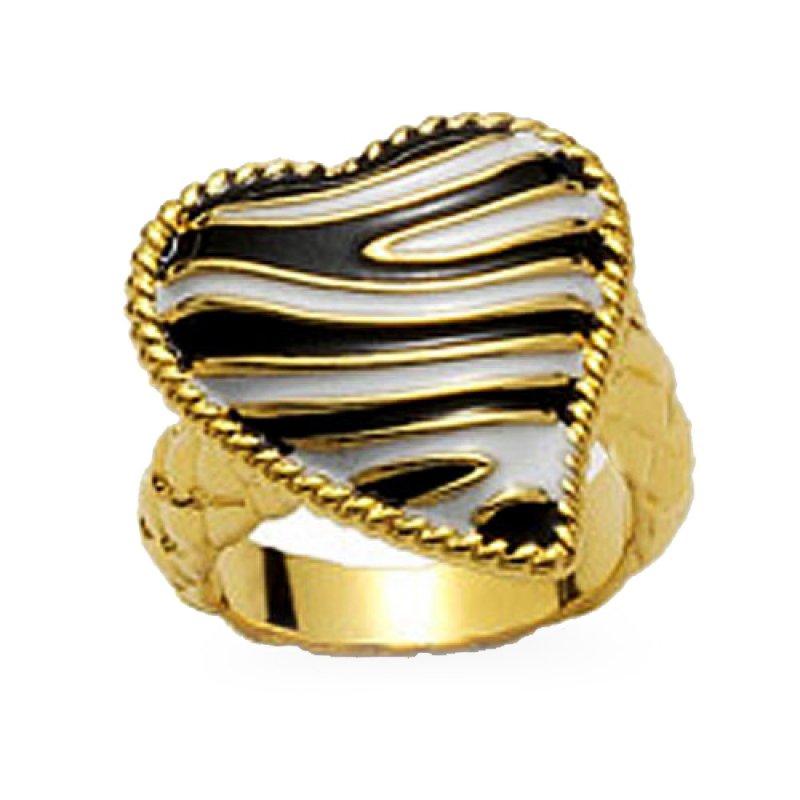 Δαχτυλίδι Just Cavalli Just Zebra από Ορείχαλκο - WC1I908A