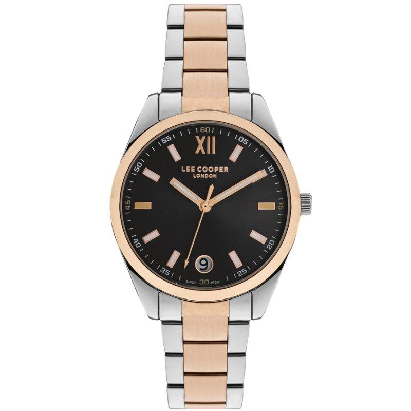 Ρολόι LEE COOPER Two Tone Stainless Steel Bracelet - LC07102.560