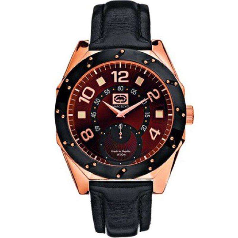 Ρολόι Marc Ecko Black Strap - E11548G1