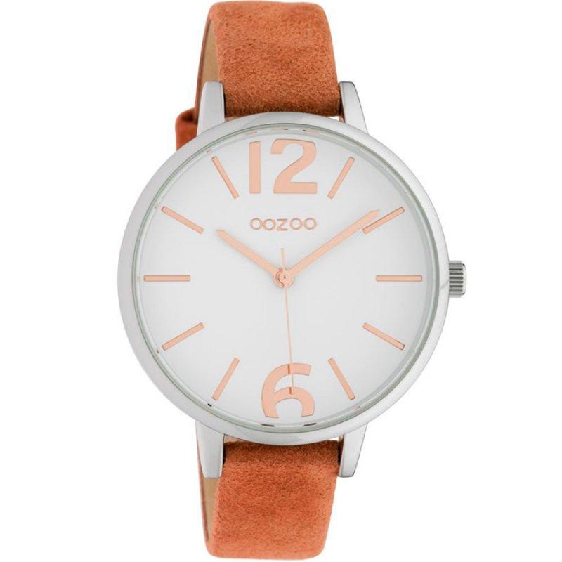 Ρολόι OOZOO Timepieces Brown Leather Strap - C10435