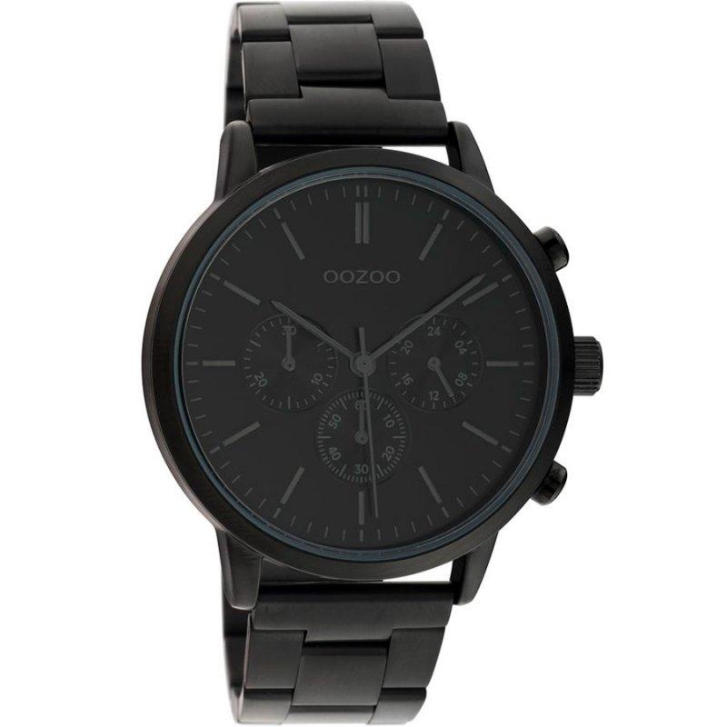 Ρολόι OOZOO Timepieces 42 mm Black Metallic Strap - C10549