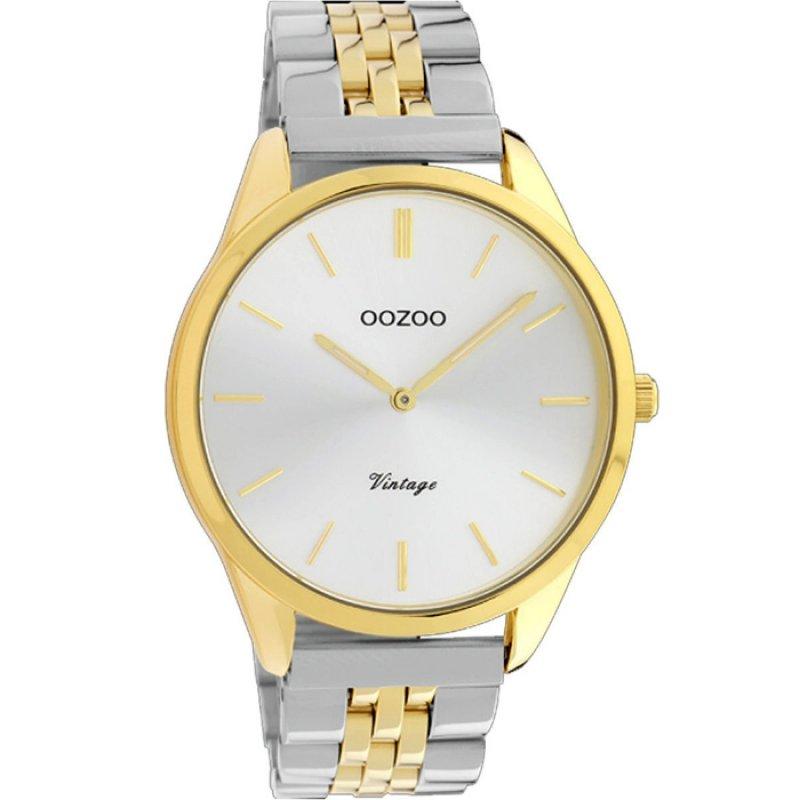 Ρολόι OOZOO Timepieces Vintage Two Tone Stainless Steel Bracelet - C9984