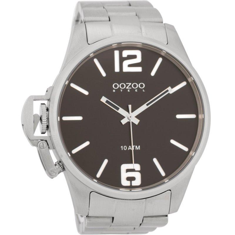 Ρολόι OOZOO Steel Silver Stainless Steel Bracelet OSGR16 - OSGR16