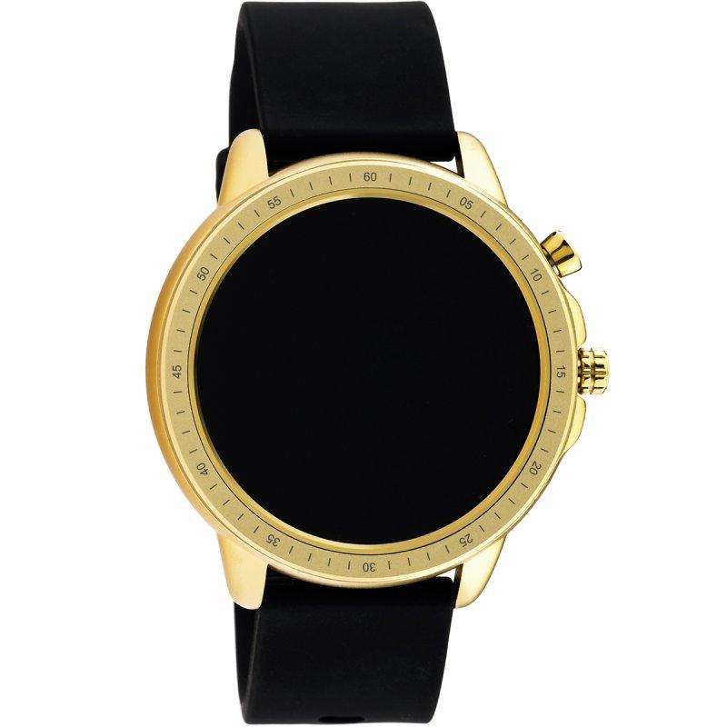 Ρολόι OOZOO Unisex Smartwatch Black Rubber Strap - Q00301