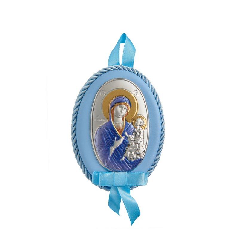 Διακοσμητικό Παναγίτσα Κούνιας Νεογέννητου Αγόρι - MAD510-CC