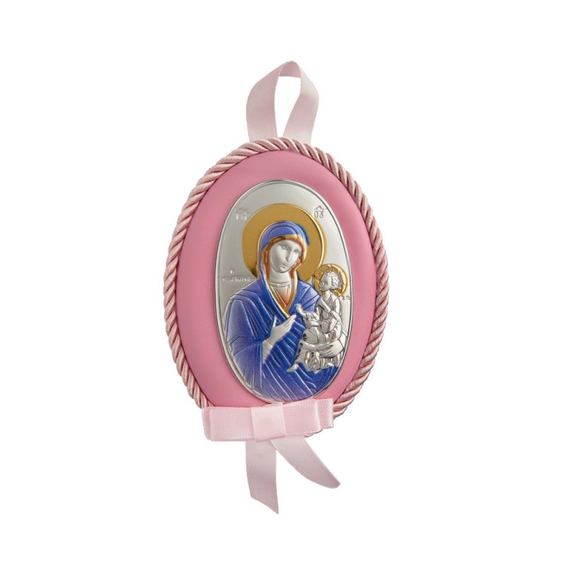 Διακοσμητικό Παναγίτσα Κούνιας Νεογέννητου Κορίτσι - MAD510-RC