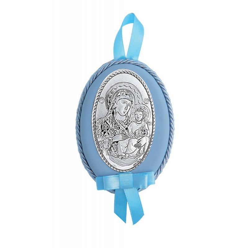 Διακοσμητικό Παναγίτσα Κούνιας Νεογέννητου Αγόρι - MAD516-C