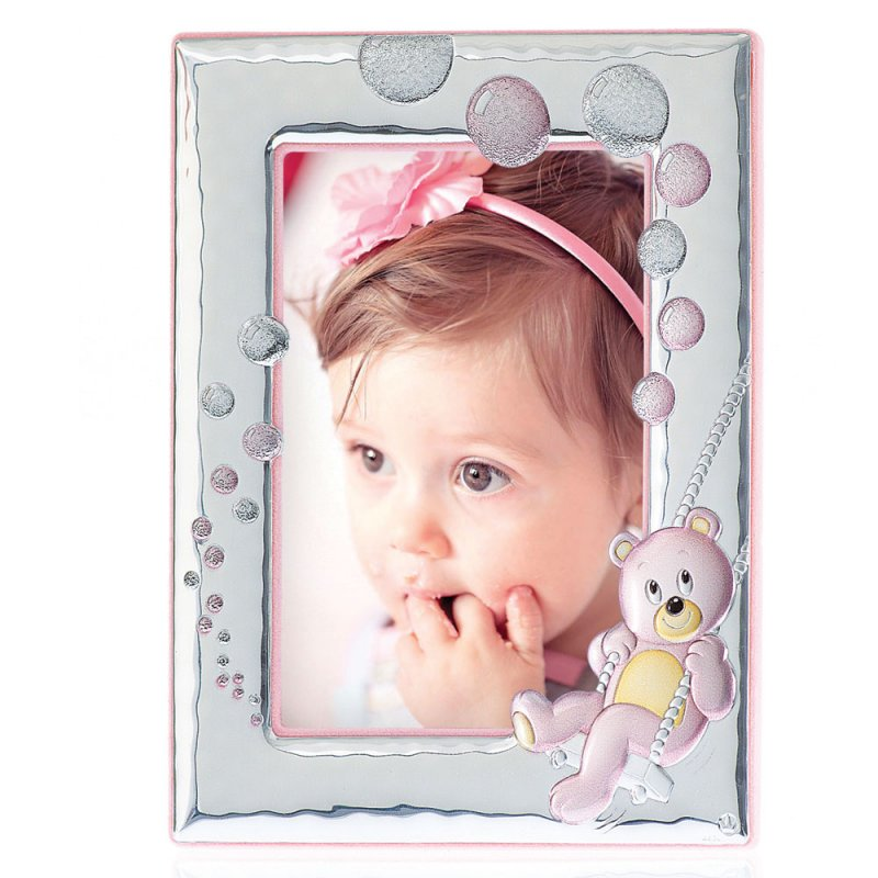 Παιδική Κορνίζα Ασημένια 13x18 - MB-122-BR