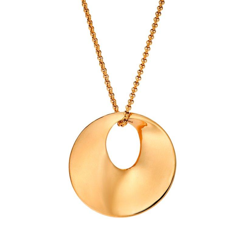 Μενταγιόν PUPPIS Stainless Steel Gold Plated - PUP09492G