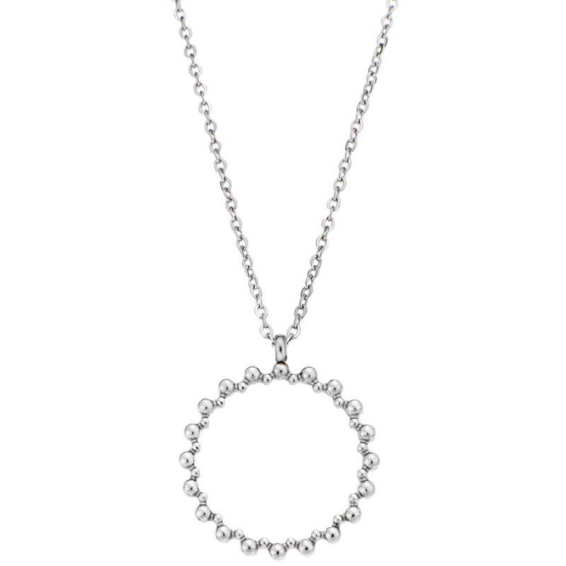Μενταγιόν PUPPIS Stainless Steel Necklace Silver PUP28779S - PUP28779S