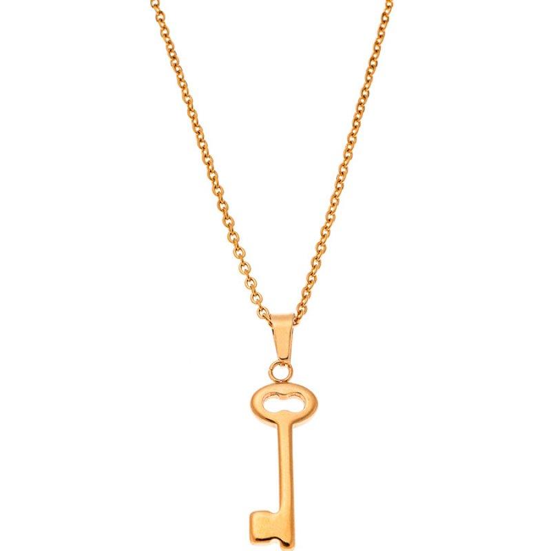 Κολιέ PUPPIS Gold Stainless Steel - PUP80030G