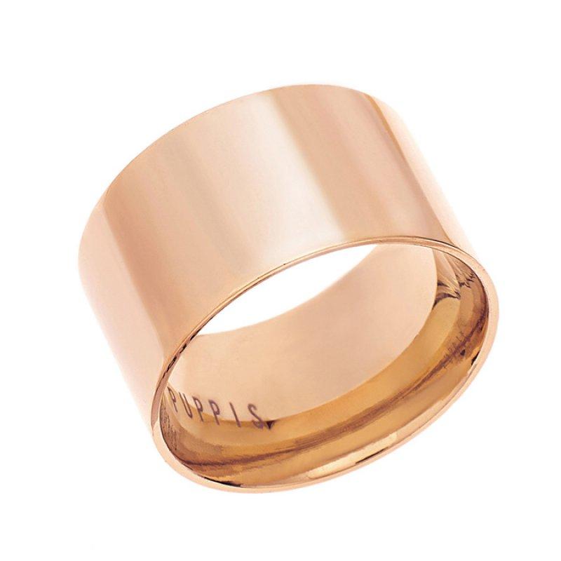 Δαχτυλίδι PUPPIS Steel Rose Gold - PUR21262R