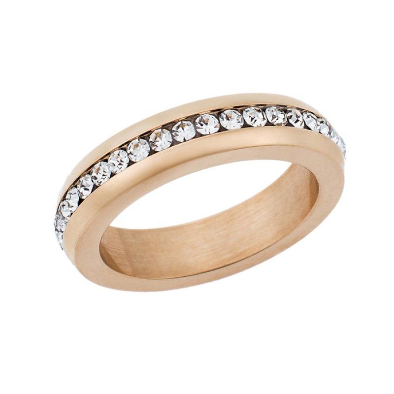 Δαχτυλίδι PUPPIS Rose Gold Stainless Steel - PUR44400R