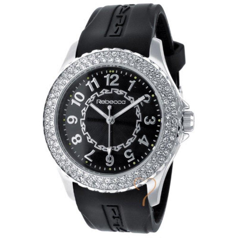 Ρολόι Rebecca Griffe Time  Black Strap - AGRONN02