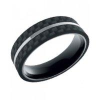 Δαχτυλίδι Ανδρικό ROSSO AMANTE Black Stainless Steel - UAN022MW